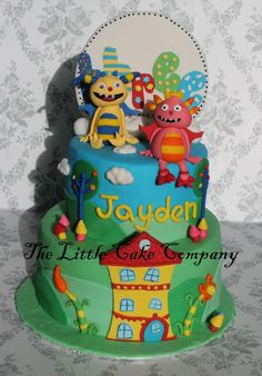 henry hugglemonster cake - Google Search