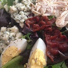 The most magical salad ever. I swear there's lettuce in there too... #yum #fioremarketcafe