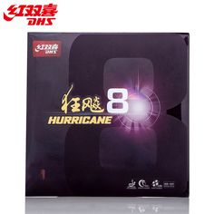 sale dhs original hurricane 8 pips in h8 table tennis rubber ping pong tenis de #table #ping #pong