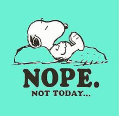 We all have to allow ourselves to say, Nope. Snoopy Comics, Peanuts By Schulz, Peanuts Snoopy, Snoopy Pictures, Funny Pictures, 19 Birthday Quotes, Cute Quotes, Funny Quotes, Charlie Brown Und Snoopy
