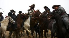 Afghanistan's national sport is like polo, with a headless goat. - #Afghanistan #sport #buzkashi #CentralAsia
