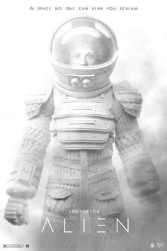 """thepostermovement: """"Alien by John Aslarona """""""