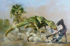 Paleoart: the strange history of dinosaurs in art – in pictures