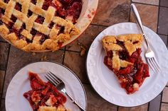 Mission: FoodStrawberry Balsamic Pie  with corn flour instead ground arrowroot, if I not find