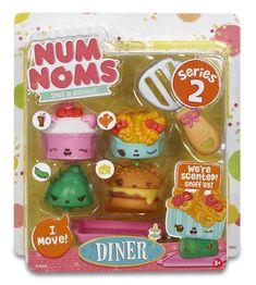 Amazon.com: Num Noms Series 2 - Scented 4-Pack - Brunch Bunch: Toys & Games