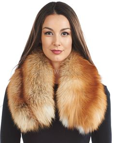 Hover over image to zoom Natural Red, Fox Fur, Cowl, Furs, Collars cf22c0353c6