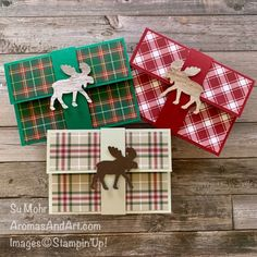 Aromas and Art - Su Mohr, Independent Stampin' Up! Demonstrator, and Independent Young Living Distributor Gift Cards Money, Free Gift Cards, Gift Card Cards, Christmas Gift Card Holders, Christmas Cards, Christmas Wrapping, Holiday Cards, Penny Black, 3d Christmas