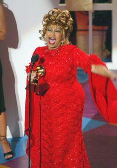 Cuban singer Celia Cruz's real name was as legendary as her career. She was born Úrsula Hilaria Celia de la Caridad Cruz Alfonso de la Santísima Trinidad. ¡Azúcar!