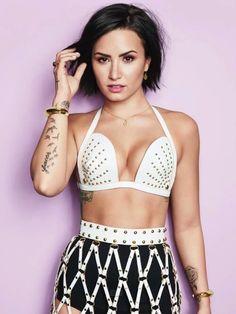 Demi Lovato for Cosmopolitan