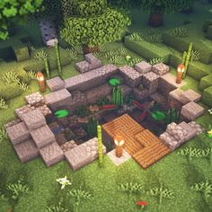 Here is a small building that I built yesterday I love aba buildings - Everything About Minecraft Minecraft Crafts, Plans Minecraft, Minecraft Garden, Minecraft Decorations, Minecraft Room, Minecraft Tutorial, Minecraft Blueprints, Cool Minecraft Houses, Minecraft Furniture