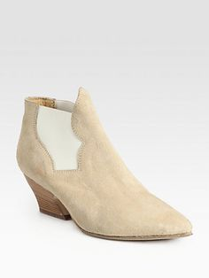 Acne - Alma Suede Ankle Boots - Saks.com