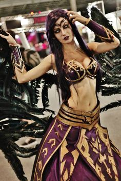 3bb27f2abf19d Morgana from League of Legends by Débora Fuzeti Cosplay Gaming Mouse Pa