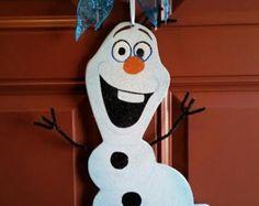 Disney Frozen Olaf the Snowman Door Hanger