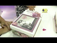 Vivíssima | Aprenda a fazer uma caixa decorativa com decoupage - 09 de A...