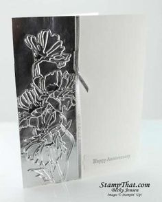 Embossing Technique Card