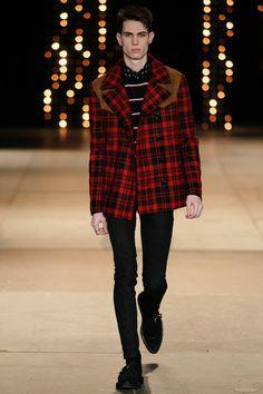 eba083223d2a Saint Laurent F/W 2014 Hedi Slimane, Mens Fashion Week, Runway Fashion,