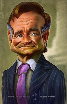 Robin Williams by Bogdan Covaciu
