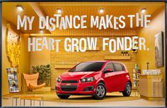 CHEVY Small Cars: OOH on Behance