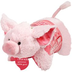 ☆ Pillow Pets - Sweet Scented Bubble Gum Piggy Pillow Pet ☆