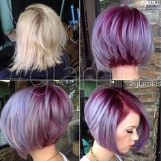 A-line bobs! Images and video tutorials!: