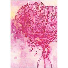 Painted Peony| Card
