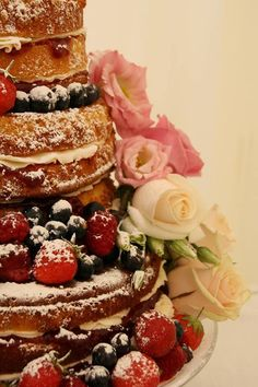 Victoria Sandwich Wedding Cake