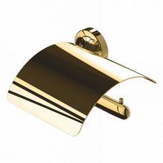 Deze gouden closetrolhouder trekt meteen de aandacht. Combineer deze met andere gouden elementen en je badkamer krijgt gegarandeerd een luxe uitstraling - Geesa Tone Gold closetrolhouder met klep Goud Arrow, Wall Lights, Meet, Bags, Elegant, Products, Accessories, Lush, Handbags