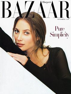 Magazine photos featuring Harpers Bazaar Magazine [United States] (September on the cover. Harpers Bazaar Magazine [United States] (September magazine cover photos, back issues and newstand editions. Fashion Magazine Cover, Fashion Cover, Magazine Covers, Christy Turlington, Fabien Baron, Orange Book, Original Supermodels, Dior, Stephanie Seymour