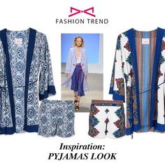 """Out of bed"" style. Try now the hot trend! Bed Styling, Fashion Story, Spring Summer 2016, Pyjamas, Kimono Top, Hot, Fashion Trends, Life, Inspiration"