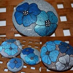 .flor azul