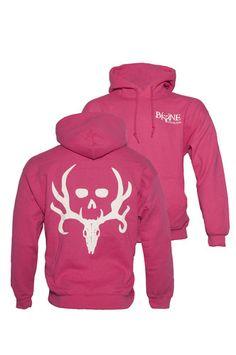 Pink Bone Collector Hoodie