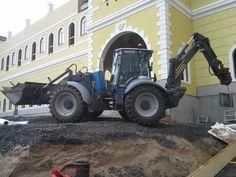Hannu Laukkonen & Lännen 8800i  #Lannen #Lännen #backhoe #machine #municipal_works #infra