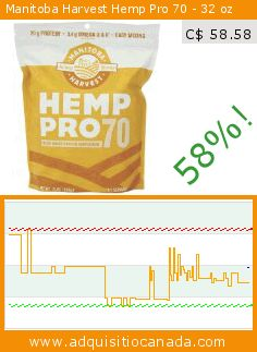 Manitoba Harvest Hemp Pro 70 - 32 oz (Grocery). Drop 58%! Current price C$ 58.58, the previous price was C$ 139.94. https://www.adquisitiocanada.com/manitoba-harvest/manitoba-harvest-hemp-pro-1
