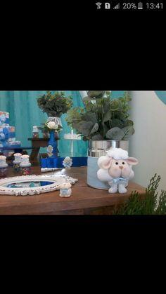 Lata decorativa de ovelhinha