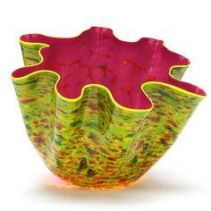 """Dale Chihuly (WA, b. 1941), """"Zinnia Macchia"""" Glass Sculpture: Leland Little Auctions"""