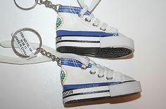 2 El Salvador Country Flag Sneaker Tennis Shoe Keychains New | eBay