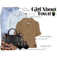 Look of the Week: Casually About The Town