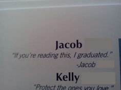 senior quotes for yearbook - Google Search