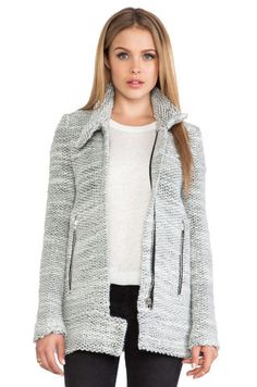 IRO Ajuma Jacket in Light Grey from REVOLVEclothing, How would you style this?