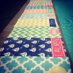 haymarket designs beach towels