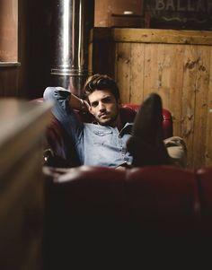 Mariano Di Vaio / Male Models, Denim Shirts