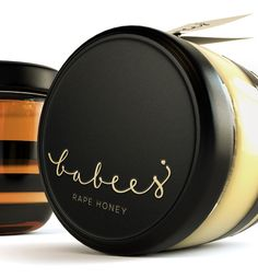 Babees Honey Branding, A Simple And Minimalist Honey Packaging Design Honey Packaging, Beauty Packaging, Brand Packaging, Glass Packaging, Design Packaging, Pretty Packaging, Pots, Branding, Brand Identity