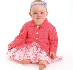 Ideas knitting patterns free baby jacket sweets for 2019 Jumper Knitting Pattern, Jacket Pattern, Baby Knitting Patterns, Baby Patterns, Knitting For Kids, Free Knitting, Free Crochet, Crochet Baby, Knitted Baby Cardigan