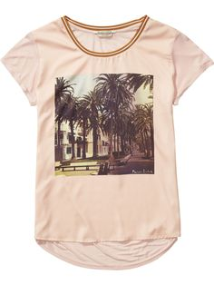 Photo Print T-Shirt   Jersey s/s tee's & tops   Woman Clothing at Scotch & Soda