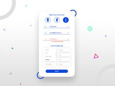 Daily UI Challenge - Login Screen - #Day1