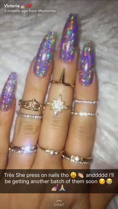 holographic nails follow me on Pinterest follow me on ig: m.kaayg add me on snap: wcemikalah