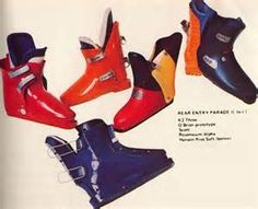 Ski Equipment, Alpine Skiing, Vintage Ski, Ski Boots, Slipper Boots, High Top Sneakers, Slippers, Heels, Ol