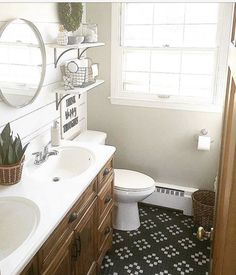 Love the tile floor design