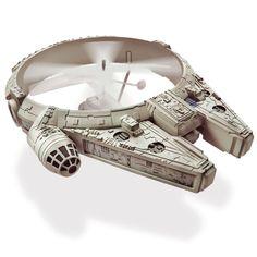 espectacular!!! The Only Remote Controlled Millennium Falcon - Hammacher Schlemmer