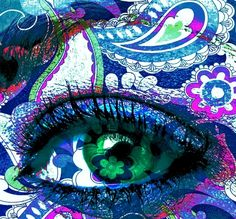 """blue paisley eye photoshopped"" by Courtney Rhodes Pretty Eyes, Cool Eyes, Beautiful Eyes, Zentangle, Paisley, Eye Pictures, Colorful Eye Makeup, Magic Eyes, Eye Photography"